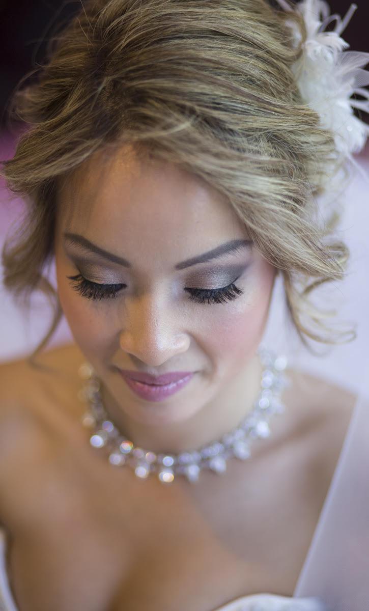 Destination Wedding Makeup Artist : bridal2 Irene Kyranis