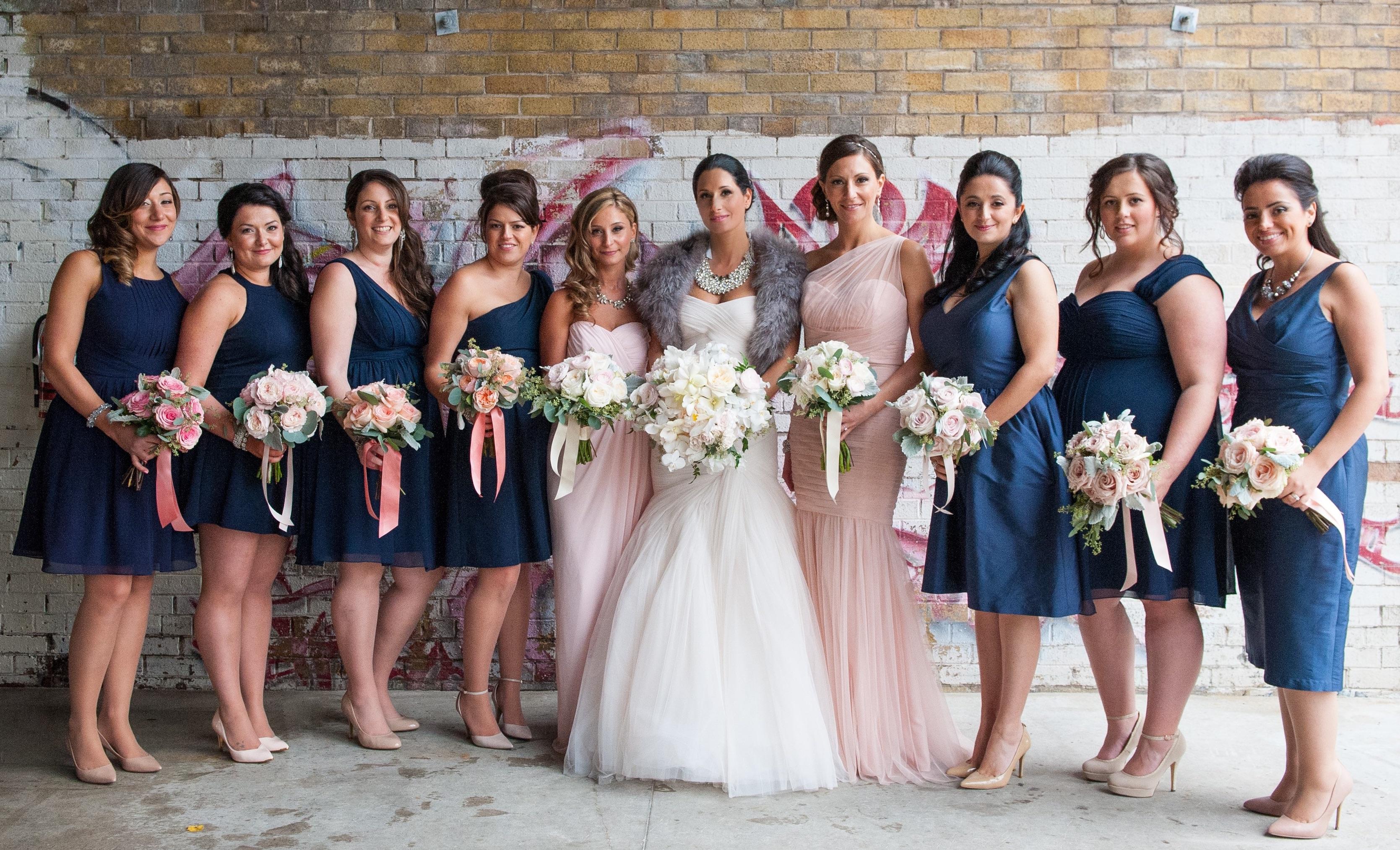 FAQ stunning makeup of bridal party